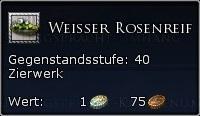 Weisser Rosenreif Tooltipp
