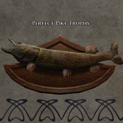 Perfect pike trophy s