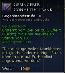 Geringerer Conhuith Trank+