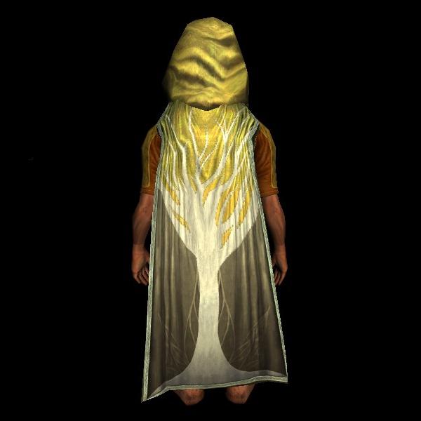 Lothlórien Hooded Cloak of the Overseer hobbit