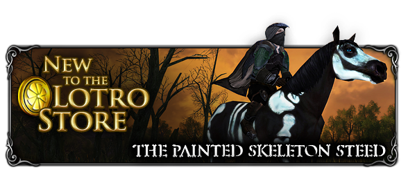 Painted Skeleton Steed PIC