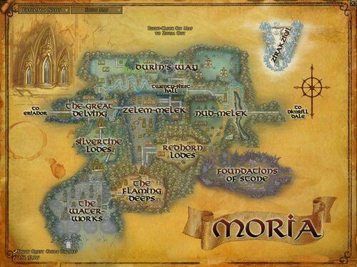 Moria map