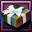 Striped Gift Box-icon