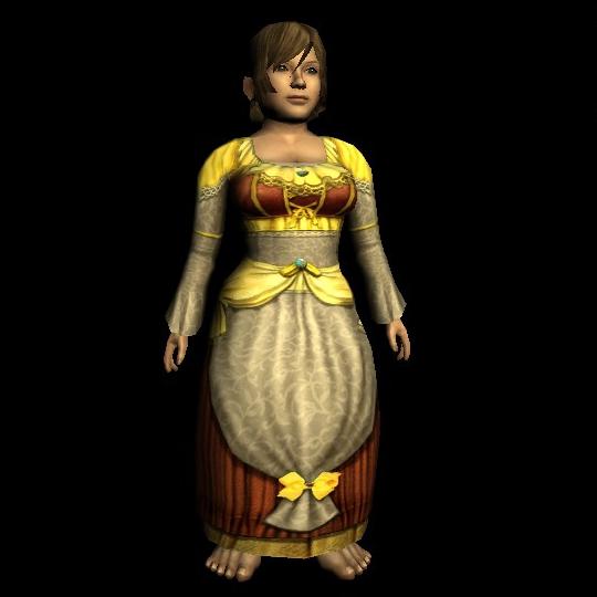 Elegant Long-sleeved Dress hobbit