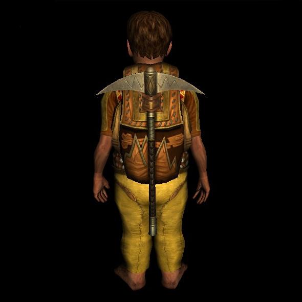 Dwarf-make Prospector's Pack hobbit