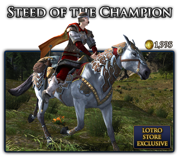 Steed of the Champion Store Exclusive