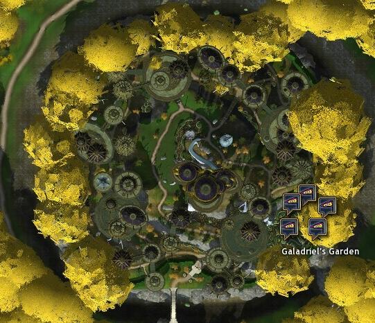 Galadriel's Garden MAP