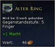 Alter ring