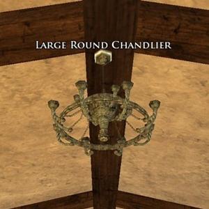 Large Round Chandlier sample