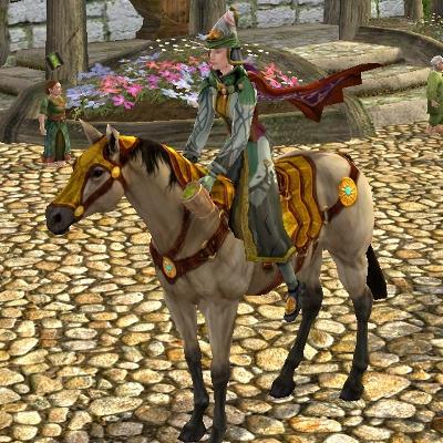 Pale Golden Summer Horse