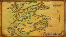 Eregion Karte