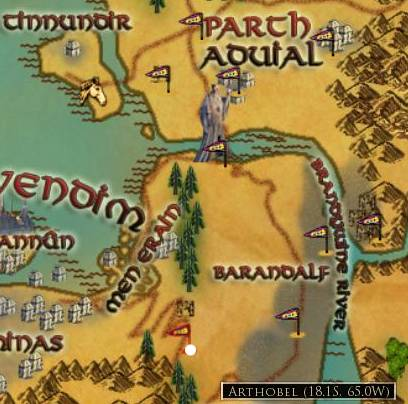 Lord Of The Rings Online World Map.Arthobel Lord Of The Rings Online Wiki Fandom Powered By Wikia