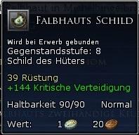 Falbhauts Schild