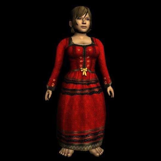 Extravagant Festival Dress hobbit