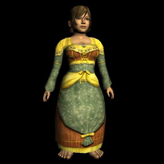 Mathom Long-sleeved Dress hobbit