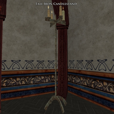 Tall Iron Candlestand0