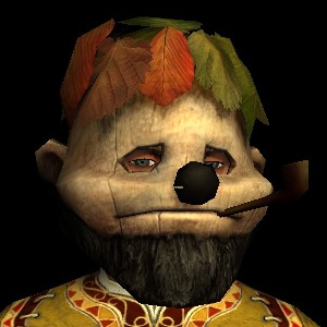 Pipe Festival Mask hobbit