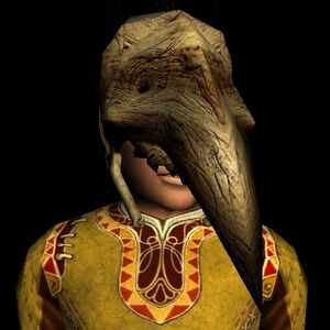 Wooden Cave-claw Mask hobbit