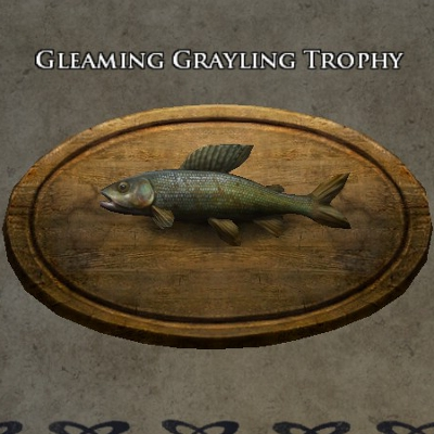 Gleaming grayling trophy s