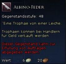 Albino-Feder