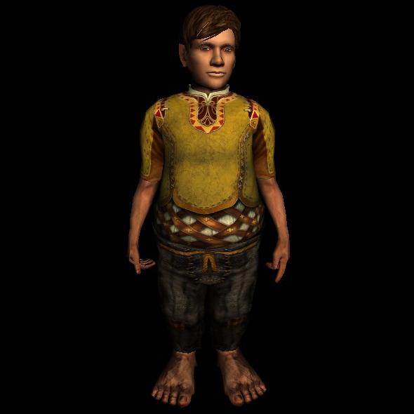 Shabby Leggings hobbit