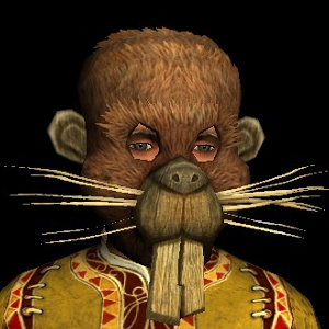 Beaver Festival Mask hobbit