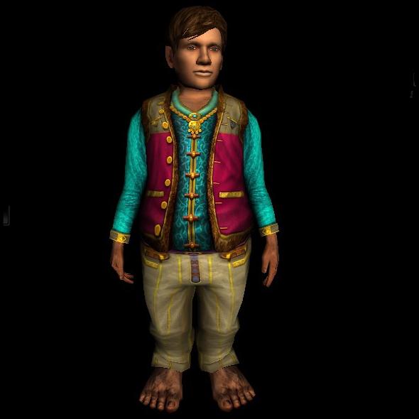 Fancy Shirt and Pants hobbit