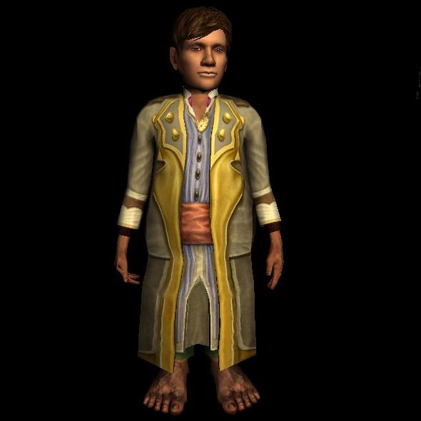 Long Fancy Robe hobbit
