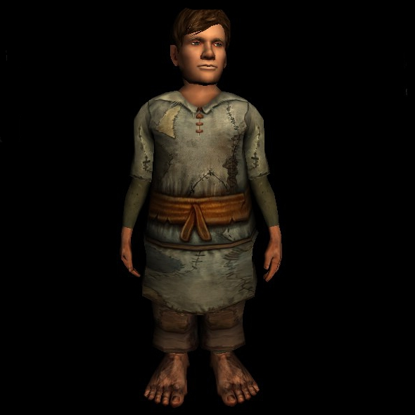 Well-Worn Tunic hobbit