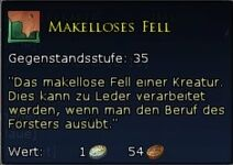 Makelloses Fell