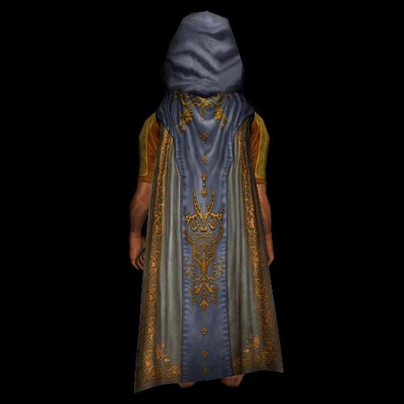 Ceremonial Cloak of the Ancient Ruins hobbit
