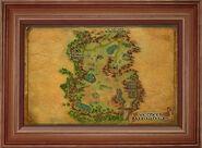 Karte der südlichen Hügelgräberhöhen
