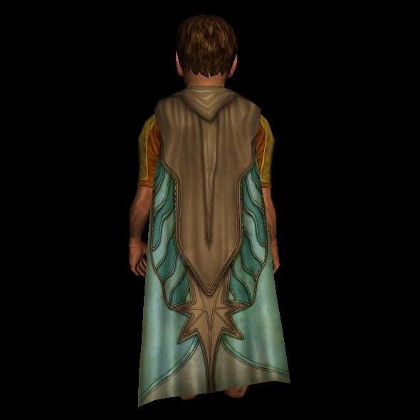 Cloak of the Silver Star hobbit