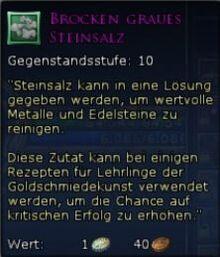 Brocken Graues Steinsalz