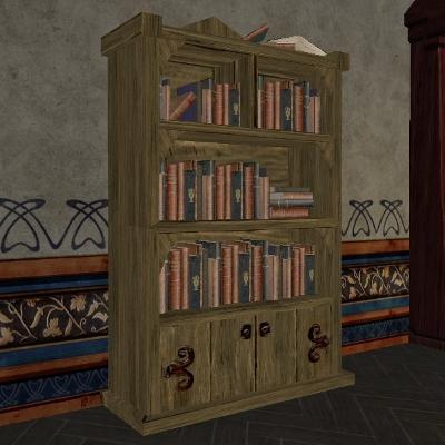 Scholar's Pointed Bookshelf