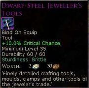 Dwarf-SteelJewellersTools