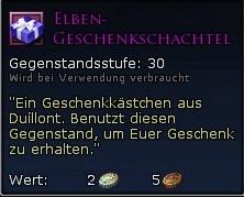 Elben-Geschenkschachtel