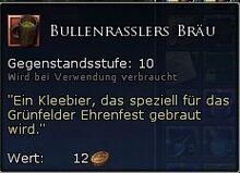 Bullenrasslers Bräu