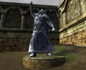 Dúnedain-statue