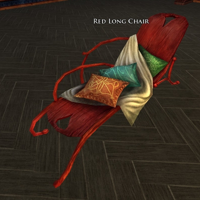 Red Long Chair