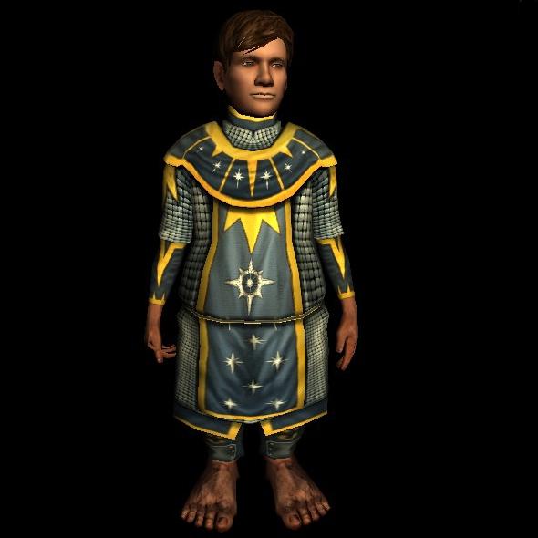 Hauberk of the Mirrormare hobbit