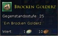 Brocken Golderz