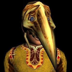 Golden Cave-claw Mask hobbit