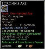 ToronnsAxe