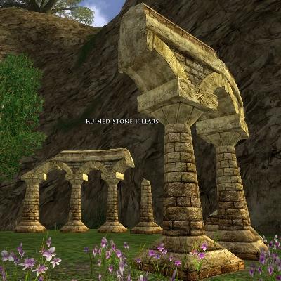 Ruined Stone Pillars