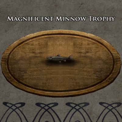 Magnificent minnow trophy
