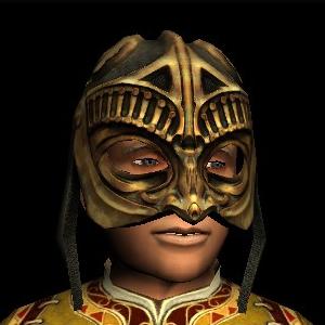Battle-mask of Rhun hobbit