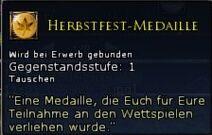 Herbstfest-Medaille