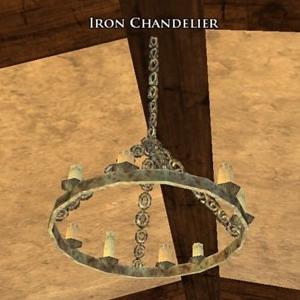 Iron Chandelier sample