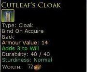 CutleafsCloak
